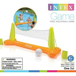 Intex Kids 2-pc. Pool Volleyball Game