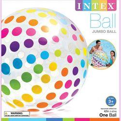 Intex Kids Jumbo Dot Print Beach Ball