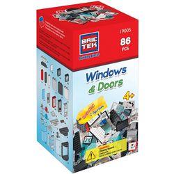 BricTek Kids 86-pcs. Windows & Doors Building Blocks