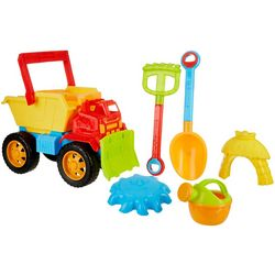 OKK Toys 6-pc. Bulldozer & Accessories Beach Sand