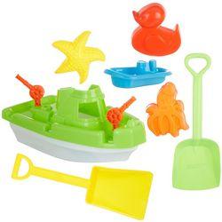 OKK Toys 7-pc. Boat & Accessories Beach Sand Set