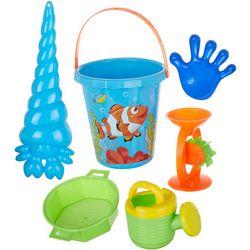 OKK Toys 5-pc. Fish Bucket & Accessories Beach Sand Set