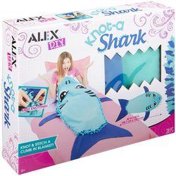 Alex DIY Knot-A-Shark Blanket Kit