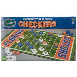 Florida Gators Checkers Board Game Set
