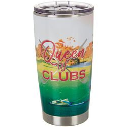 Nukuze 20 oz. Stainless Steel Queen of Clubs