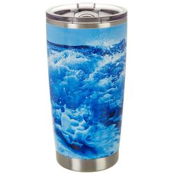 Nukuze 20 oz. Stainless Steel Oceans Travel Tumbler