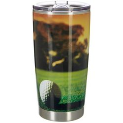 Nukuze 20 oz. Stainless Steel Golf Course Travel Tumbler
