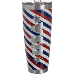 Nukuze 30 oz. Stainless Steel USA Stripe Tumbler