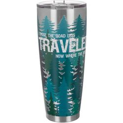 Nukuze 30 oz. Stainless Steel Road Less Traveled Tumbler