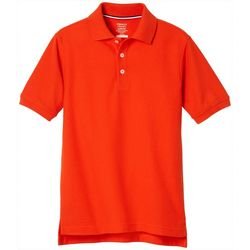 Toddler Boys Uniform Short Sleeve Pique Polo