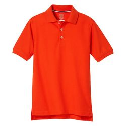 French Toast Big Boys Uniform Short Sleeve Pique Polo