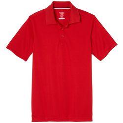 Little Boys Short Sleeve Wicking Polo