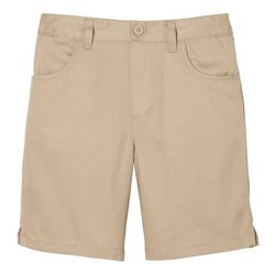 French Toast Little Girls Pull-On Twill Short