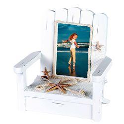 Beach Combers Beach Chair Starfish Photo Frame