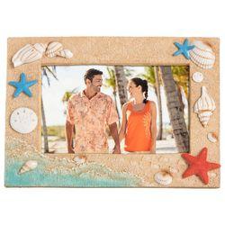 Beach Combers 4'' x 6'' Sand Wave Photo Frame