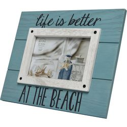 Prinz 4'' x 6'' Life Is Better At The Beach Photo Frame