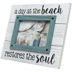 Prinz 4'' x 6'' A Day At The Beach Photo Frame