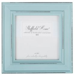 Sheffield Home 4'' x 4'' Distressed Teal Frame