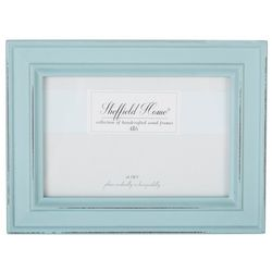 Sheffield Home 4'' x 6'' Distressed Teal Frame