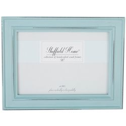 Sheffield Home 5'' x 7'' Distressed Teal Frame