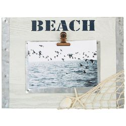 Philip Whitney 4'' x 6'' Beach Net Photo Frame