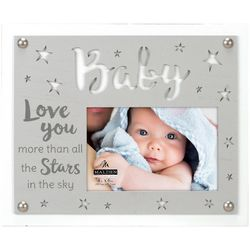 Malden 4'' x 6'' Baby Love You More Photo Frame
