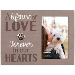 Malden 4'' x 6'' Paw Lifetime Of Love Photo Frame