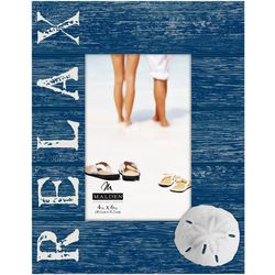 Malden 4'' x 6'' Relax Sand Dollar Photo Frame