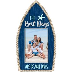 Malden 3'' x 5'' Best Days Boat Photo Frame