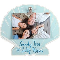 Malden 4'' x 6'' Sea Shell Clip Photo Frame