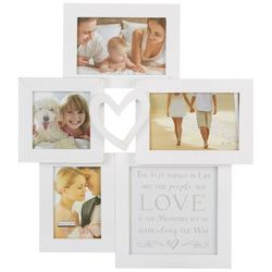 Malden 4 Opening Heart Collage Wall Frame