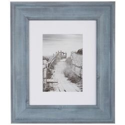 Malden 8'' x 10'' Blue Denim Matted Photo Frame