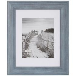 Malden 11'' x 14'' Blue Denim Matted Wall Frame