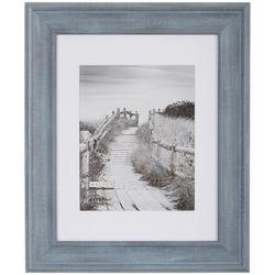 Malden 11'' x 14'' Blue Denim Matted Wall Frame