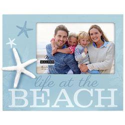 Malden 4'' x 6'' Life At The Beach Photo Frame