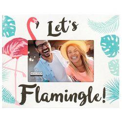 Malden 4'' x 6'' Let's Flamingle Photo Frame