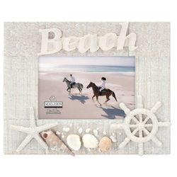 Malden 4'' x 6'' Beach Shell Frame