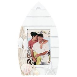 Malden 3'' x 4'' Wooden Boat Photo Frame