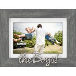 Malden 4'' x 6'' The Boys Photo Frame