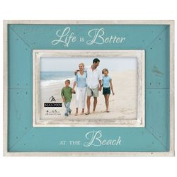 Malden 4'' x 6'' Life Is Better At The Beach Frame