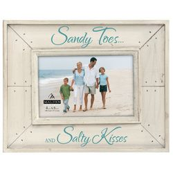 Malden 4'' x 6'' Sandy Toes And Salty Kisses Frame