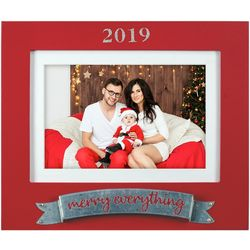 Malden 4'' x 6'' 2019 Merry Everything Photo Frame