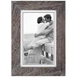 Malden 4'' x 6'' Grey Ridge Photo Frame