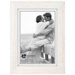 Malden 5'' x 7'' White Wash Photo Frame