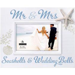 Malden 4'' x 6'' Mr. & Mrs. Seashells Photo Frame