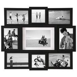 Malden 9 Opening Black Collage Frame
