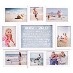 Malden 8 Opening Beach Rules Collage Frame