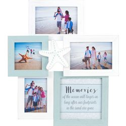 Malden 5 Opening Coastal Wall Collage Photo Frame
