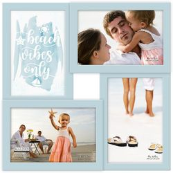 Malden 4 Opening Beach Vibes Only Collage Frame
