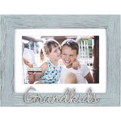 Malden 4'' x 6'' Aqua Grandkids Photo Frame